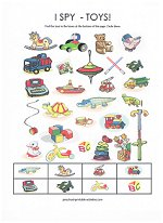 photo relating to I Spy Printable Worksheets titled Printable I Spy Online games