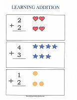 preschool addition problems