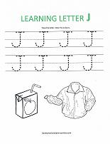 math worksheet : alphabet worksheets : Letter J Worksheets For Kindergarten