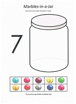 number seven worksheet