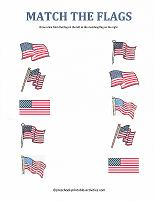 Worksheets for Kids - Printable Fun for Independence Day