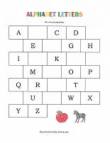 Printables Preschool Alphabet Worksheet free printable preschool worksheets missing letters worksheet