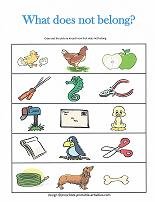 Printable Worksheets for Kids besides What Does Not Belong   Pre K    Free Printable Tests and Worksheets together with English worksheets  Which Food Does Not Belong together with Number Identify The Item That Does Not Belong Sorting Categorizing besides Which Does Not Belong Worksheet additionally What Does Not Belong  Worksheet for Kindergarten   1st Grade furthermore Which Does Not Belong Worksheet moreover Which Does Not Belong    TeacherVision as well Which Shape Does Not Belong  by Miss Moretti's Place   TpT besides  likewise Identifying Groups also  likewise  also Which One Does Not Belong  Print   Go Worksheets for Exclusion moreover Which Does Not Belong    Worksheet   Education furthermore What Does Not Belong  Worksheet for Kindergarten   1st Grade. on which does not belong worksheet