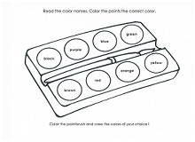 color by name coloring page