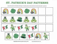 patterning activity for st patrick's day