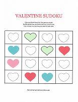 valentines day sudoku puzzle