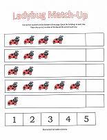 ladybug counting worksheet