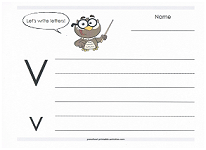 practice capital and lowercase v